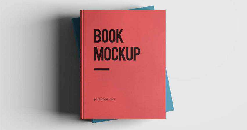 Free High Resolution Book Mockup Photoshop PSD
