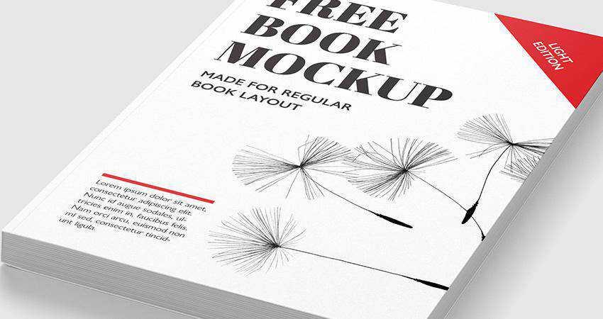 Free Book Mockup Templates Photoshop PSD