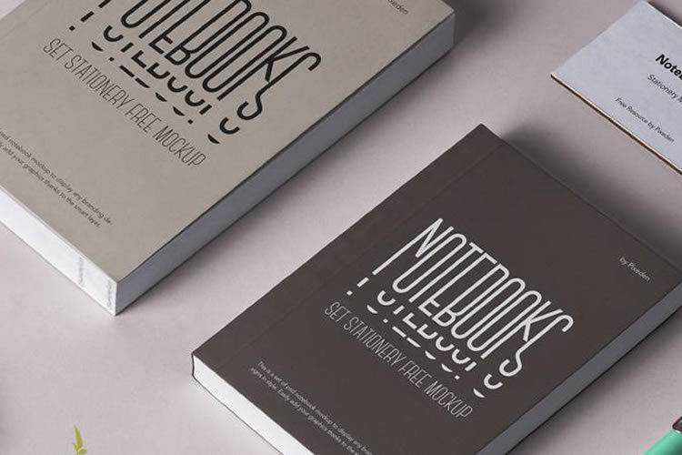 20 Best Free Book Mockup Templates for Photoshop