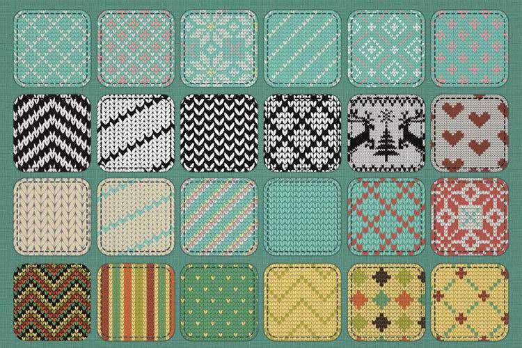 30 Free Fabric Photoshop Pattern Sets for Your Toolbox