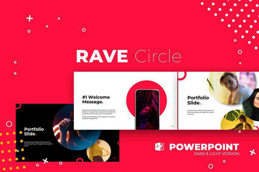Free Rave Powerpoint Templates