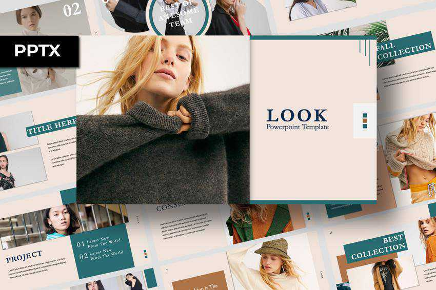 Free Look Elegant Powerpoint Template