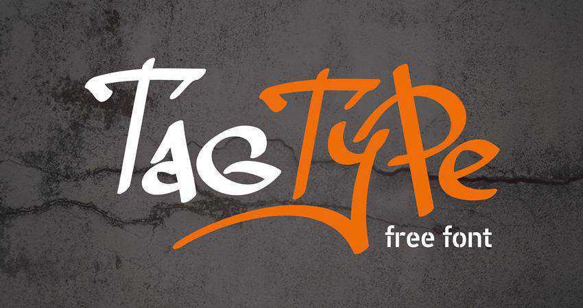 Tag Type Free Font
