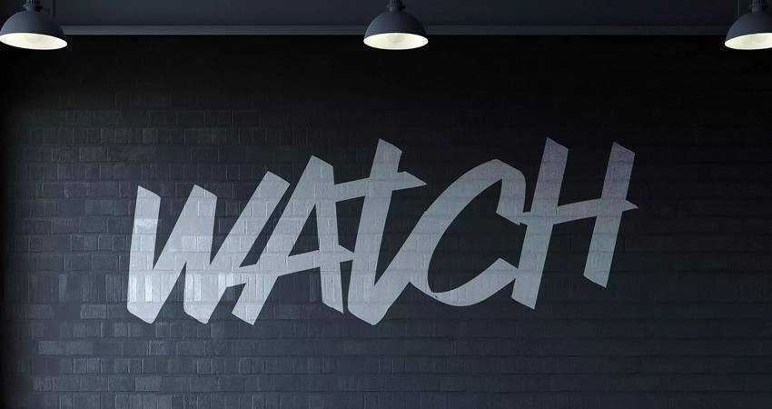 Watch Graffiti Font