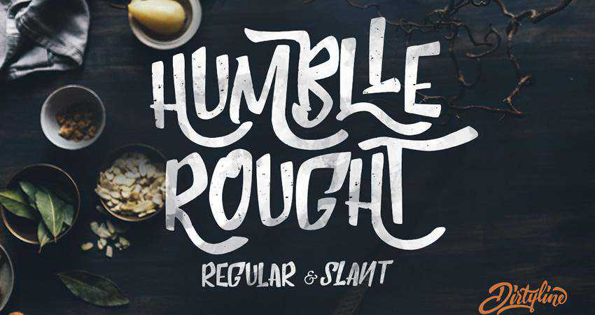 Free Humblle Rought Font