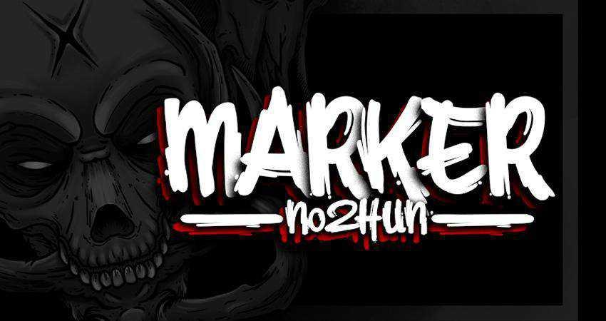 Free Marker No2Hun Font