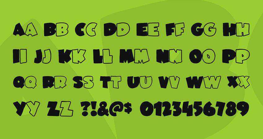 Free JuneBug Font