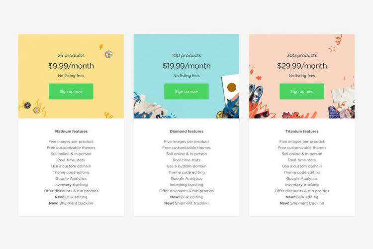 20 Creative Examples of Pricing Page Web Layouts for Inspiration