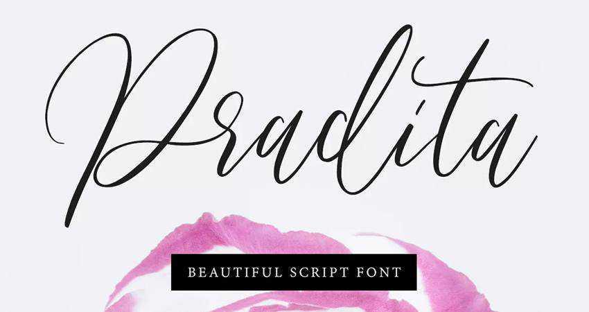 Pradita Script Font