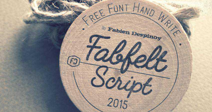 Free Fabfelt Script Font