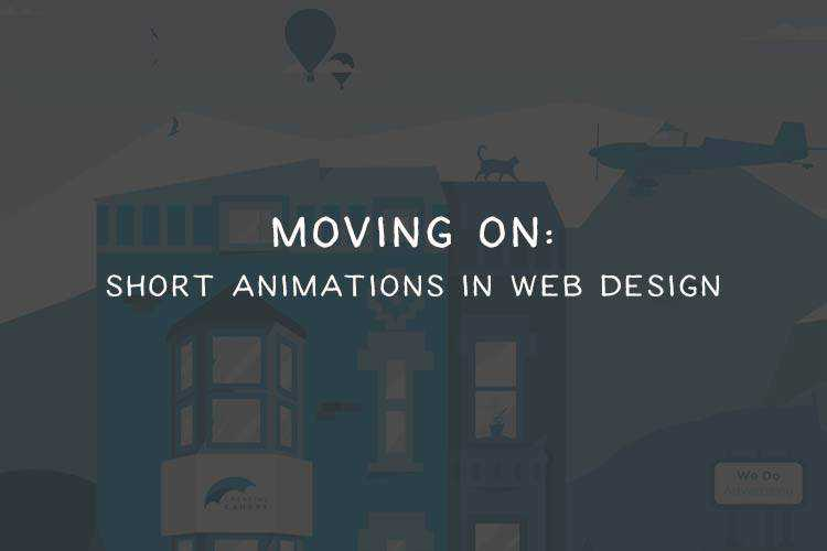 The Tiny Short Animation Trend in Web Design