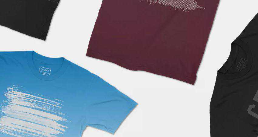 Photorealistic 4K T-Shirt Mockups Photoshop PSD