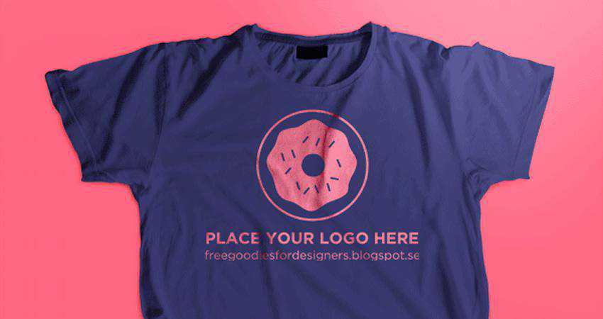Free PSD T-Shirt Mockup Template Photoshop PSD