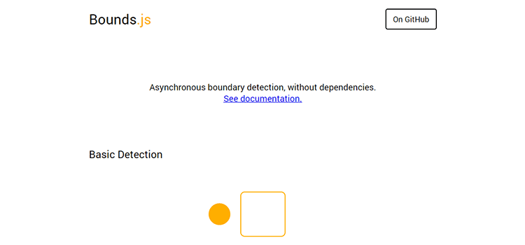 Bounds.js