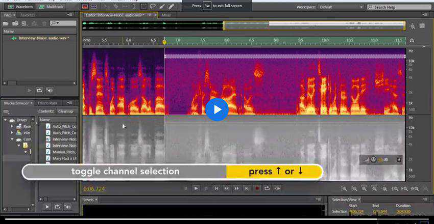 How to Clean Up Audio in Adobe Audition