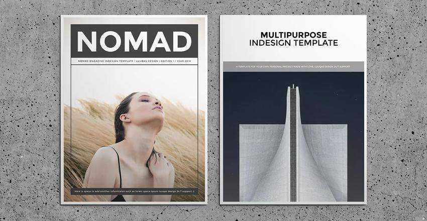 Nomad Magazine Layout
