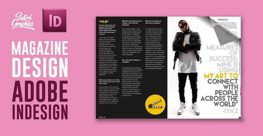 How to Create a Magazine Layout in Adobe InDesign Photoshop