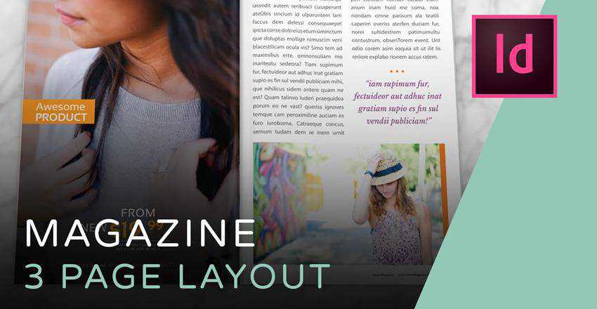 How to Create a Three-Page Magazine Spread