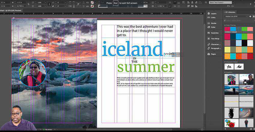 How to Design a Magazine Article Layout in Adobe InDesign