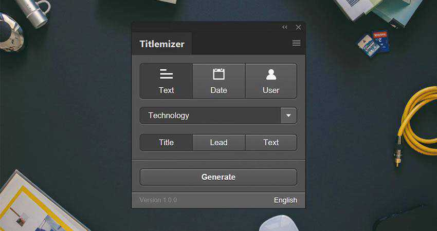 Titlemizer Photoshop Plugin Plugin Extension
