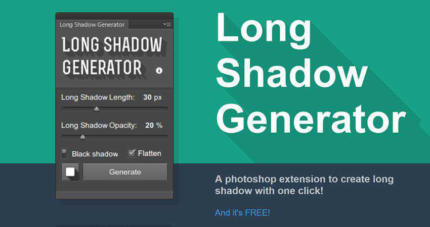Long Shadow Generator Plugin Extension