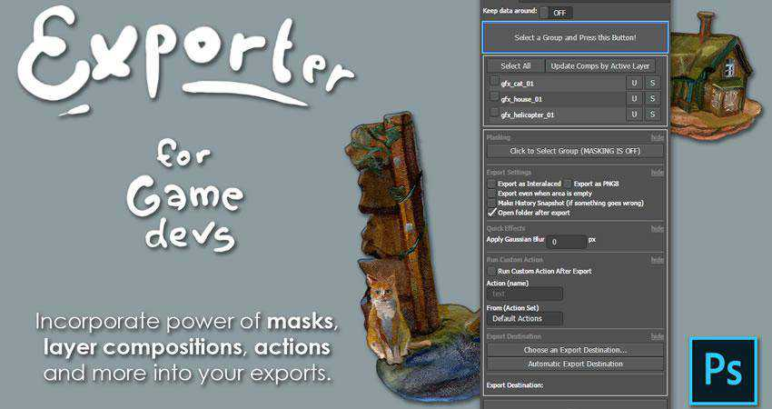 Exporter for Game Developers Plugin Extension
