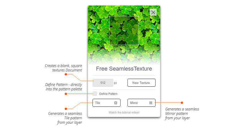 Seamless Texture Generator Plugin Extension