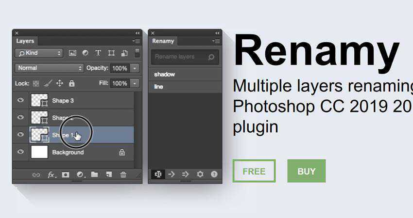 Renamy CC Plugin Plugin Extension