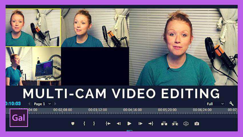 Multi-Camera Editing in Adobe Premiere Pro