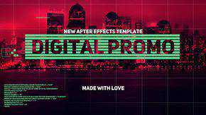 Digital Promo Template