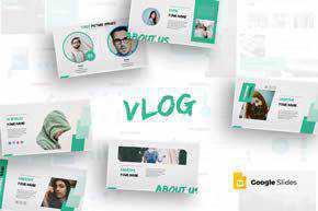 Vlog - Google Slides Template