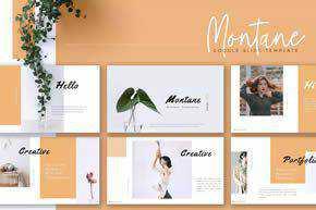 MONTANE - Creative Google Slides Template