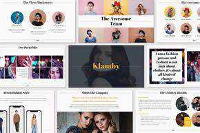 Klamby - Google Slides Template