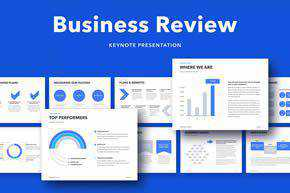 Business Review Keynote Template