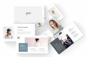 Exus - Business Keynote Template