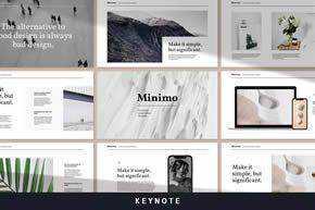 Minimo - Modern Minimal Keynote Template