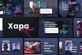 XAPA - Modern Keynote Template