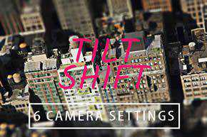 Tilt Shift Blur Action