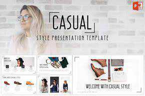 Casual - Powerpoint Template
