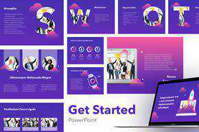 Get Started PowePoint Template