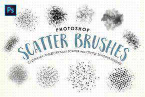 Scatter & Stipple Brushes