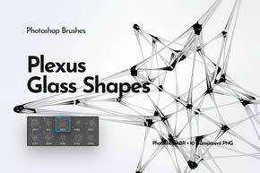 Plexus Glass Shapes