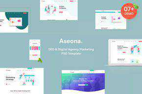 Digital Marketing Template PSD