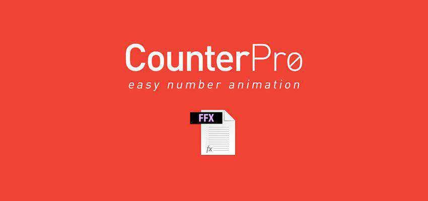 CounterPro Preset Count & Animate Numbers