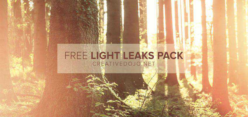 Free Light Leaks Preset Pack