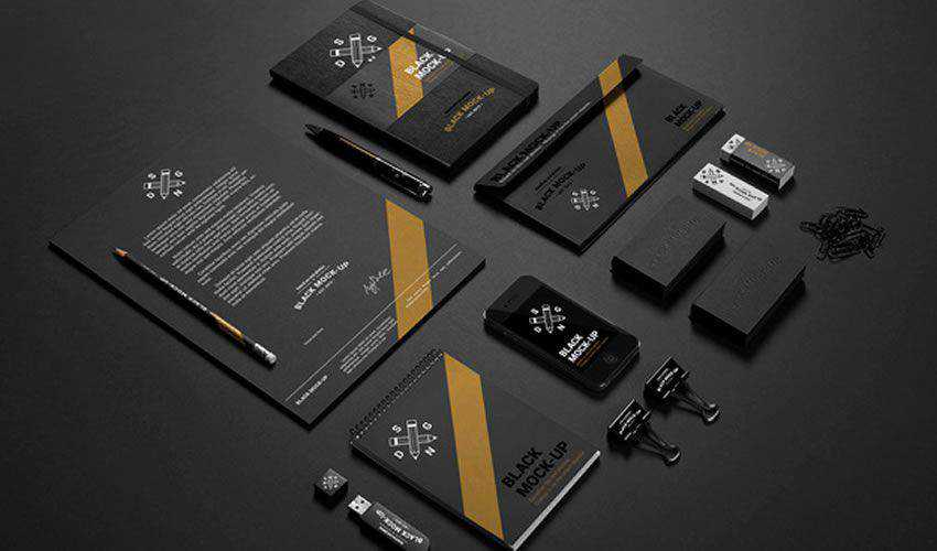 Business Stationery Mockup PSD PSD Photoshop Free