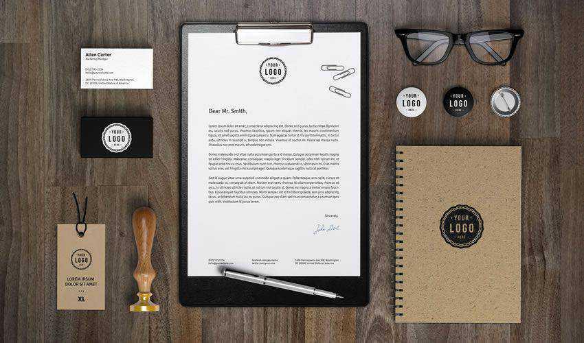 Branding & Identity Mockup Vol.7 PSD Photoshop Free