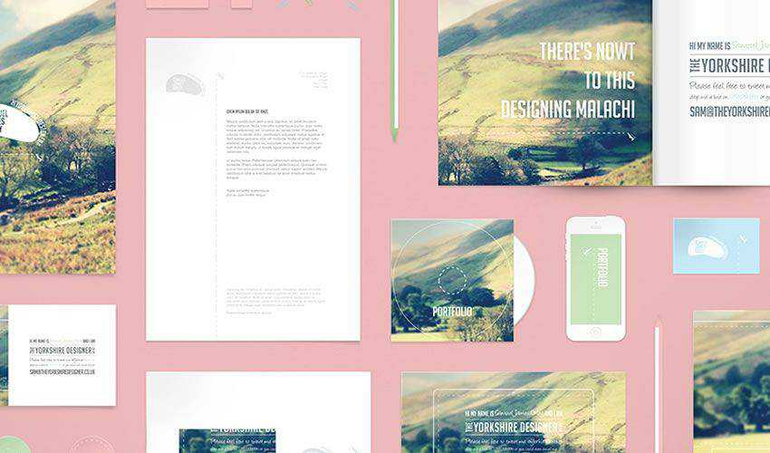 Stationery Mockup PSD PSD Photoshop Free