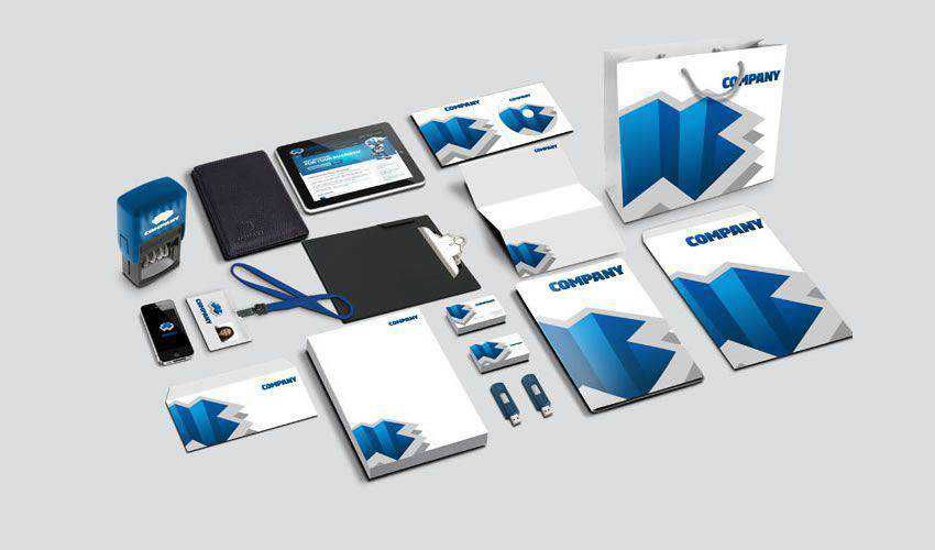 Corporate Identity PSD Mockup PSD Photoshop Free