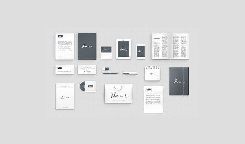 Corporate Identity Photoshop Mockup PSD PSD Photoshop Free